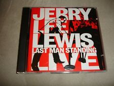 Jerry Lee Lewis Last Man Standing Live 1 CD 1 DVD