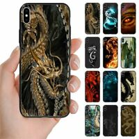 For Huawei Phone Series - Dragon Theme Print Back Case Mobile Phone Cover #1