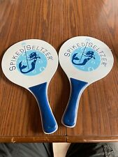 Spiked Seltzer Ping Pong Paddles