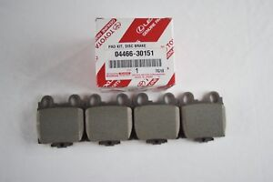 GENUINE LEXUS GS300 GS430 IS300 SC430 REAR BRAKE PADS 0446630151 OEM