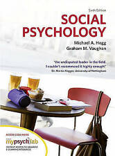 Social Psychology with MyPsychLab by Michael A. Hogg, Graham Vaughan (Mixed...
