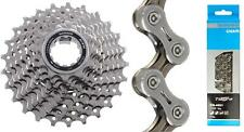 Shimano CS-5700 105 10Spd Road Cassette 11-28t + CN-4601 10-Speed Chain