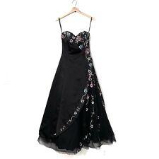 Cassandra Stone Strapless Ballgown Dress Size 2