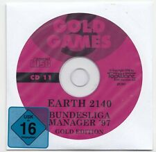 Bundesliga Manager 97 & Earth 2140 - Win 95/98, DOS
