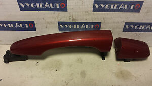 2015 VOLVO S60 V60 V40 COMPLETE DOOR HANDLE RED 31276437 31276147 OEM