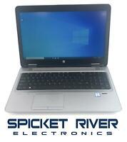 HP ProBook 650 G2 Dual Core i7-6600U 2.60GHz 500GB SSD 16GB RAM Win10Pro #53903