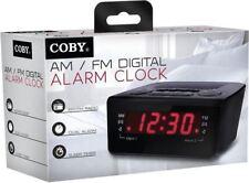 Coby CBCR-102 Digital Alarm Clock W/ AM/FM Radio and Dual Alarm