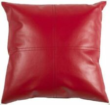 Throw Pillow Covers Cushion Case Genuine Soft Pure Lambskin Leather Home Decors