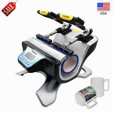 Freesub Automatic Double Mug Heat Press St 210 Sublimation Transfer Printer Us