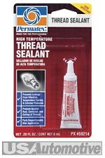 Permatex 59214 High Temperature Thread Sealant Sealer Lock 6ml