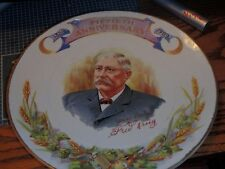 FRED KRUG BREWING CO. FIFTIETH ANNIVERSARY 1859-1909 VERY OLD PLATE VERY NICE