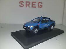 Fiat Strada  Polizia  1/43 die cast model artigianale