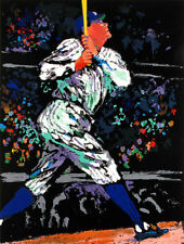 """Leroy Neiman      """"The Babe""""   MAKE  OFFER"""