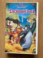 Das Dschungelbuch Walt Disney VHS SAMMLER Original mit Hologramm 1122