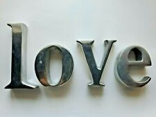 Love Sign Decoration - Table Top or shelving paper weight decor
