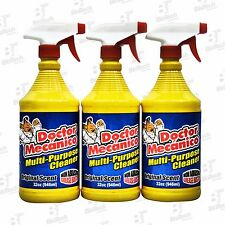 Doctor Mecanico Multi-Purpose Cleaner + Degreaser 32 oz-Original Scent (3 Units)