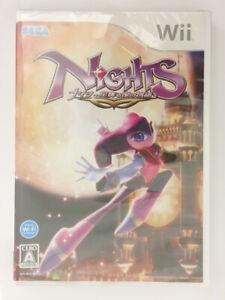 Nights Journey Into Dreams (Hoshi Furu Yoru no Monogatari) SEGA Wii Japan Import