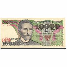 [#268721] Banknot, Polska, 10,000 Zlotych, 1987-1990, 1988-12-01, KM:151b, AU(55