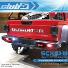 Scale Jeep Rear Bumper w/ LED ( 6V ) for Axial SCX10 III JT Gladiator