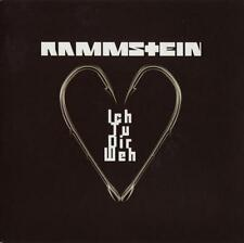 Rammstein Ich Tu Dir Weh Limited Edition 1 Sided Etched Red/Orange 7 Inch