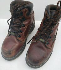 Craftsman Mens Krypt Slip Oil Resistant Leather Work Boot Safety Toe 6.5 Wide