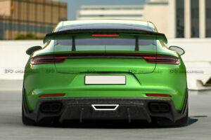 For 2017+ Porsche Panamera 971 G2 SD Style Carbon Rear Bumper Diffuser Wing Lip