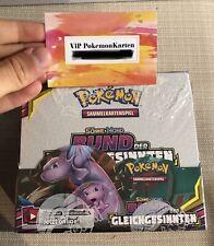 1 Pokemon Booster Display *S&M 11 Bund der Gleichgesinnten* deutsch (NEU & OVP)