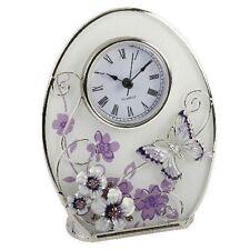 Glass Analogue Modern Wall Clocks