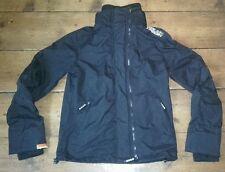 《 Men's Navy Superdry Windcheater Technical Jacket Medium - Double Black Label 》