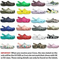Crocs Classic Clogs Shoes Slip On Summer Beach Sandals 10001 Wide Colours Choice