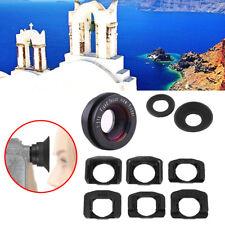 Black 1.51x Focus Viewfinder Eyepiece Eyecup Magnifier for Canon Nikon Camera DY