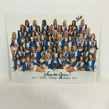 12b Dallas Cowboys Cheerleaders  2004 signed photo