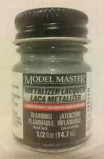 Testors Model Master Metalizer lacquer 1420, Steel (non - buff)