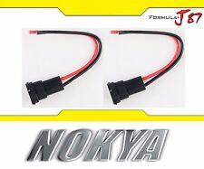 Nokya Wire Harness Pigtail Male 899 Nok9158 Fog Light Bulb Socket Plug Connector