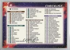 1993 SkyBox Star Trek Deep Space Nine #100 Checklist Non-Sports Card 6b1