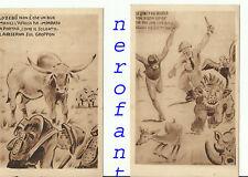Due cartoline  guerra d'Africa-Anni 30
