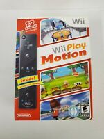 Wii Play Motion Video Game with Black Wii Remote Plus ~ Brand New and Sealed!