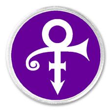 "Prince Purple Rain - 3"" Circle Sew / Iron On Patch Custom Gift Present Music"
