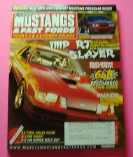 MUSCLE MUSTANGS & FAST FORDS MAY/2004...EXCLUSIVE FIRST TESTS: 648RWHP COBRA