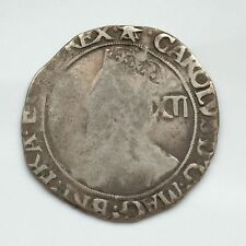 More details for rare charles the 1st shilling star over triangle obverse-star mm reverse!!!