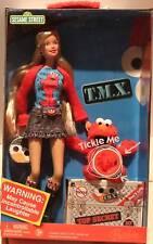 BARBIE LOVES TMX ELMO Doll Friend Tickle Me 10th Sesame Street 2006 Laughing NEW