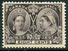 Canada - # 56 F-Vf Hinged Issue - Queen Victoria 60Th Year Reign - S5573