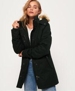 Superdry Womens Model Microfibre Jacket