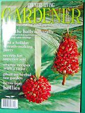 Vintage December 2000 Country Living Gardener Magazine
