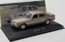 Mercedes Benz 500 SE ( 1979 ) W126 / gold met. / IXO 1:43