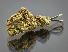 Californian Natural Gold Nugget Pendant, 5.98 Grams, Tested over 22K