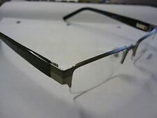 G-2045 Mens Frames Glasses Eyeglass Spectacle Black & Gun Metal G228