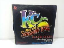 KC AND THE SUNSHINE BAND BOOGIE SHOES    DISCO  45 GIRI  VINILE