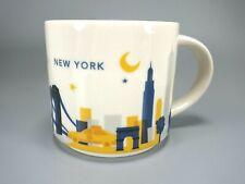 Starbucks You Are Here Collection New York City 14 oz. Coffee Mug 2016 Collector