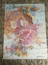Vintage Golden Puzzle Lady Lovely Locks & the Pixietails Swing 1987 100 Pieces